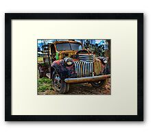 Only one owner - '46 Chevy Framed Print