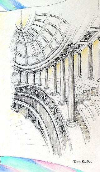 ..columns of a Temple to Beauty... by terezadelpilar ~ art & architecture