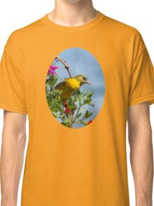 Female Baltimore Oriole Bird Art Classic T-Shirt