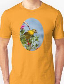 Female Baltimore Oriole Bird Art T-Shirt