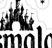 Dismaland - Black Sticker