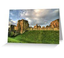 """Northumberland's Passing Prestige"" Greeting Card"