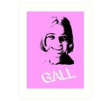 Gall Art Print