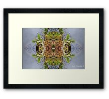 Abstracted Reflective Nature Framed Print