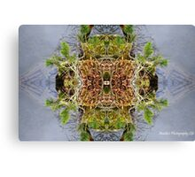 Abstracted Reflective Nature Canvas Print