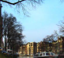 Canals Of Amsterdam III Sticker