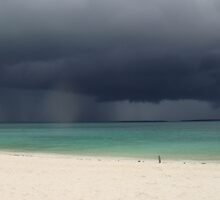 Zanzibar - A storm brewing..... by Gigi Guimbeau