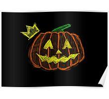Pumpkin King - Halloween. Poster