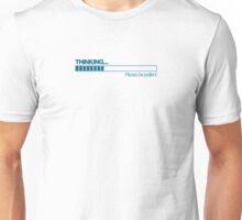 THINKING - (Blue) Unisex T-Shirt