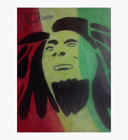 Tribal Marley Photographic Print