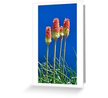 The Four Tops Greeting Card