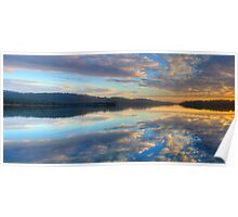 Morning Glory - Narrabeen Lakes, Sydney - The HDR Experience Poster