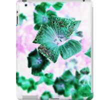 Photoshopped Flower 2 iPad Case/Skin