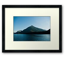 Waterton Lake Framed Print