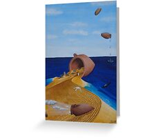 Amphorae Greeting Card