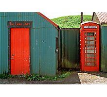 Loom Shed & Telephone Box, Skye, Scotland, UK. Photographic Print