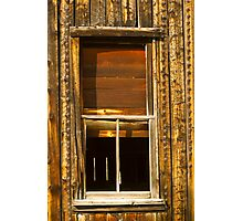 Kirwin Window-Signed-#0223 Photographic Print