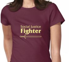 Social Justice Fighter Womens Fitted T-Shirt