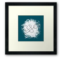Author's Signature Framed Print