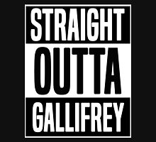Straight Outta Gallifrey Zipped Hoodie