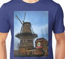 Tilting At Windmills In Amsterdam Unisex T-Shirt