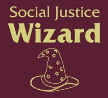 Social Justice Wizard by VonAether