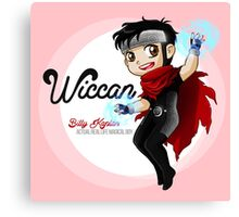 YA Chibi Wiccan (Billy Kaplan) Canvas Print
