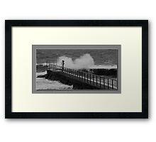 Forster pool Framed Print