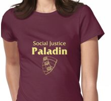 Social Justice Paladin Womens Fitted T-Shirt
