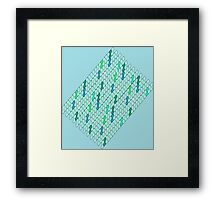 Water Scales Framed Print