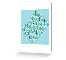 Water Scales Greeting Card