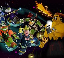 Turtles in Time | Turtle Warriors of Legend by Oreomega95