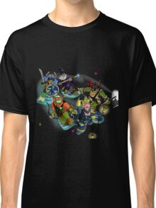Turtles in Time   Turtle Warriors of Legend Classic T-Shirt