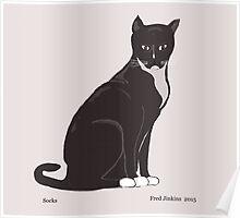 Socks the Cat Poster