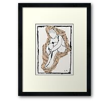 The Music Inside His Head Framed Print