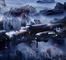 Flying Fortress  by Cliff Vestergaard