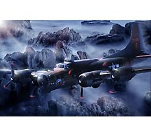 Flying Fortress  Photographic Print