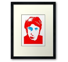 The Who Pete Townshend T-Shirt Framed Print