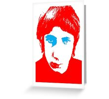 The Who Pete Townshend T-Shirt Greeting Card