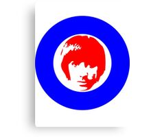 Keith Moon Mod T-Shirt Canvas Print