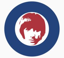 Keith Moon Mod T-Shirt by greenrasta