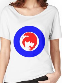 Keith Moon Mod T-Shirt Women's Relaxed Fit T-Shirt