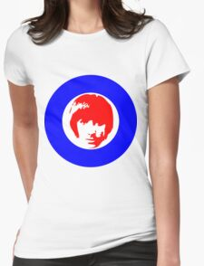 Keith Moon Mod T-Shirt Womens Fitted T-Shirt