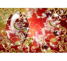 Abstract Fractal Jewel Photographic Print