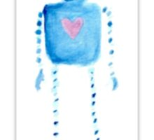 Heart Robot Sticker