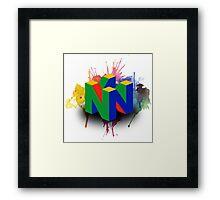 N64 Framed Print
