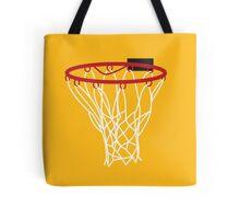A basketball HOOP Tote Bag