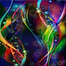 Colorful Abstract Fractal by artonwear
