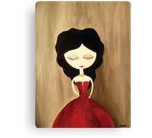 red princess Canvas Print