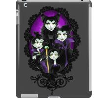 Maleficent Through The Ages iPad Case/Skin